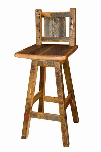 Stools Bar Rustic Stool Chairs Pallet Swivel