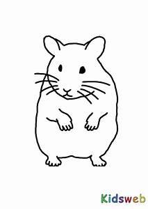 Hamster Malvorlagen Kostenlos Zum Ausdrucken