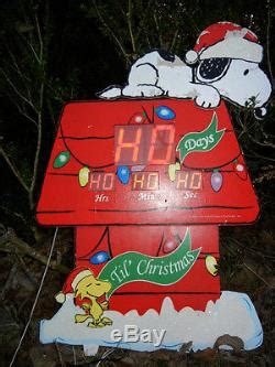 animated countdown  christmas snoopy woodstock house