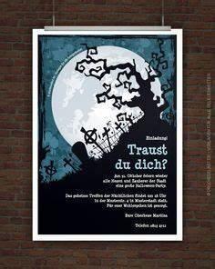 Gruselige Halloween Sprüche : kostenlose einladung f r halloween grusel party ~ Frokenaadalensverden.com Haus und Dekorationen