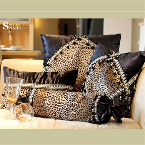modern leopard print sofa cushion case cushion cover pcs