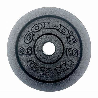 Gym Weight Golds Plate 5kg Iron Cast