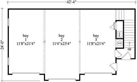 garage floorplans 1 bedroom 1 bath colonial house plan alp 09b5
