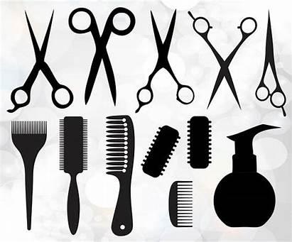 Barber Clipart Svg Hairdresser Salon Beauty Dxf