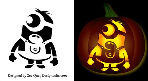 free pumpkin carving templates printable 10 best free minion pumpkin carving stencils patterns ideas for 2015