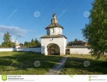 Alexander Monastery In Suzdal, Vladimir Region, Russia ...