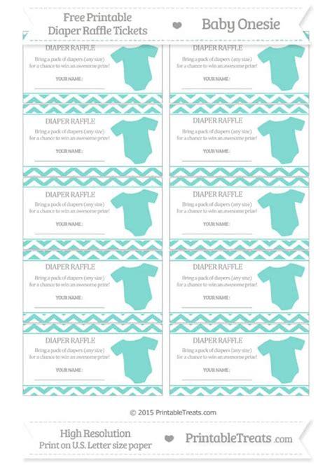 printable diaper raffle  page