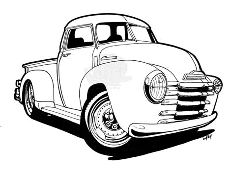 Pencil And In Color Chevrolet
