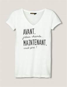 T Shirt Avec Message : t shirt message avant j 39 tais chiante mode pinterest shirt designs shirts et tee shirts ~ Nature-et-papiers.com Idées de Décoration