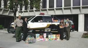 Drop off a new unwrapped toy at your local Sheriff's Station