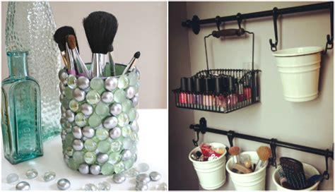 rangement maquillage pratique et joli en 15 id 233 es originales