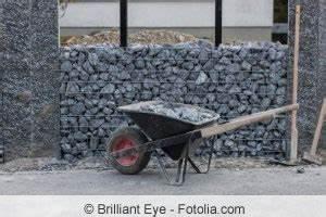 Fundament Für Mauer : gabionen aufstellen und befestigen mit und ohne fundament ~ Whattoseeinmadrid.com Haus und Dekorationen