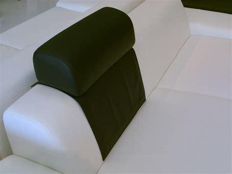 achat tetiere pour canape têtière pose libre en cuir ou tissu appui tete