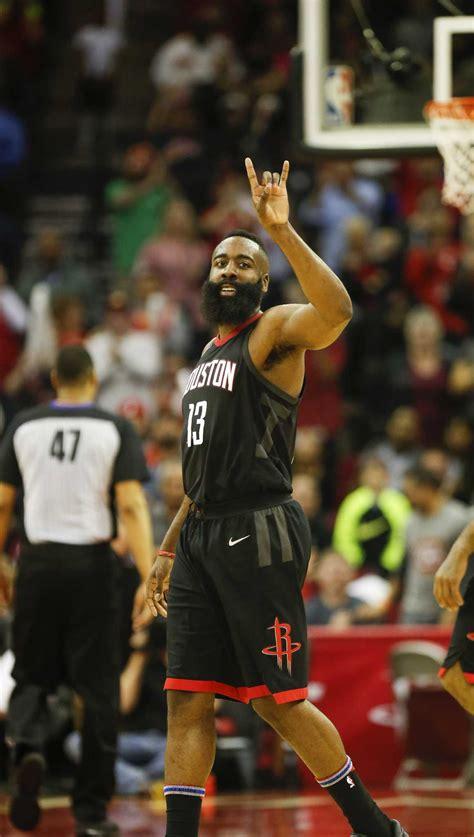 James Harden's historic night leads Rockets past Magic