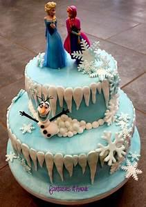 Gâteau Reine Des Neiges : les fantaisies d 39 anouk g teau reine des neiges ~ Farleysfitness.com Idées de Décoration