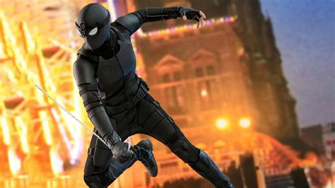 2048x1152 Black Stealth Spiderman Suit 2048x1152 ...