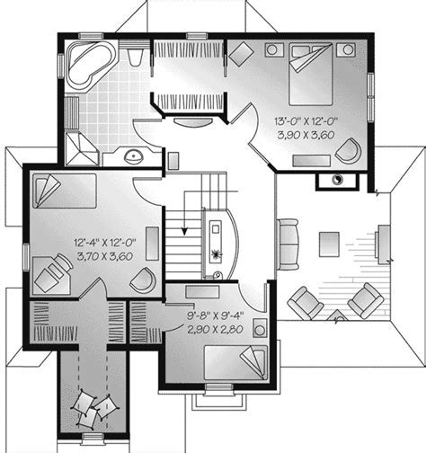 Fletcher Manor European Home Plan 032D 0427   House Plans