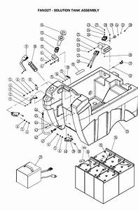 Solution Tank Assembly