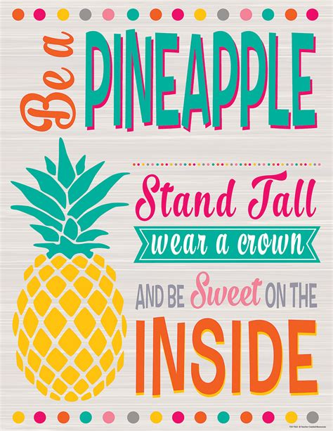 be a tropical punch be a pineapple chart tcr7563