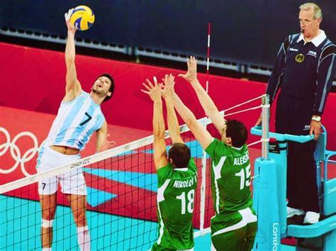remate voleibol bloqueo sports pinterest