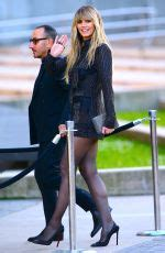 Heidi Klum Arrives Cfda Fashion Awards New York