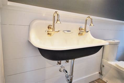 wall mounted trough sink drawing of small wall mounted sink a good choice for
