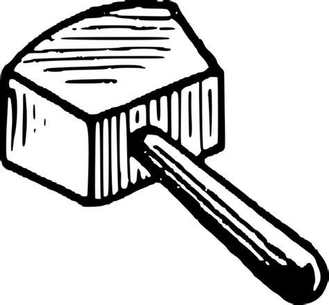 mallet  vector  open office drawing svg svg