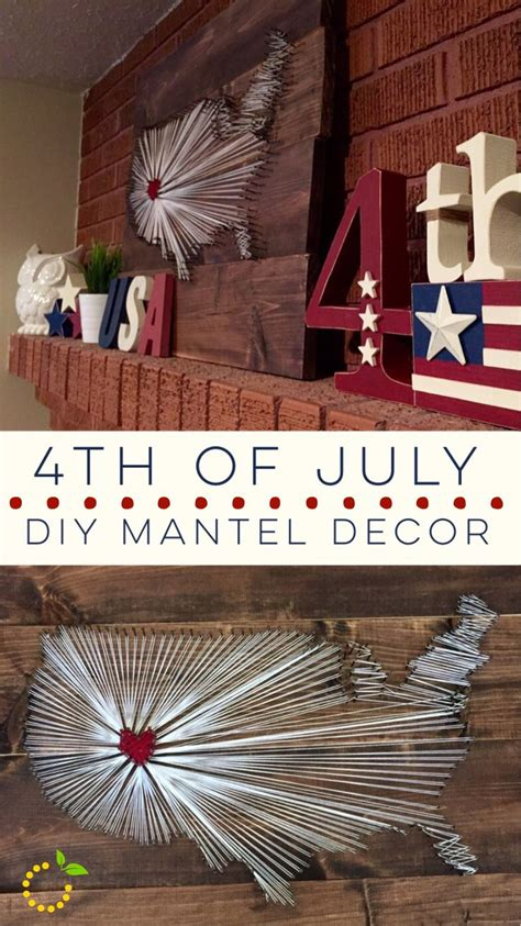 Decorating Ideas For July 4th by Best 25 4th Of July Decorations Ideas On