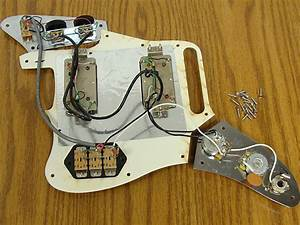Fender Classic Player Jaguar Hh Loaded Pickguard Tortoise