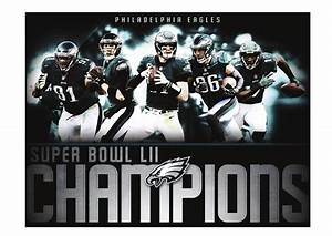 Philadelphia Eagles: Super Bowl LII Champions Mural ...