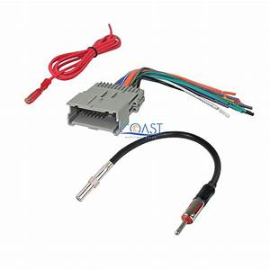 Car Stereo Radio Wire Harness Antenna Combo For 2004