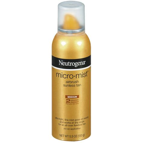 Amazoncom  Neutrogena Micromist Airbrush Sunless Tan