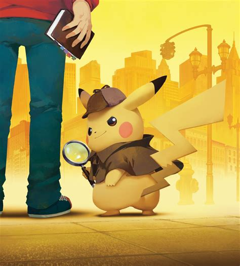 Detective Pikachu Lands On The Nintendo Eshop And At