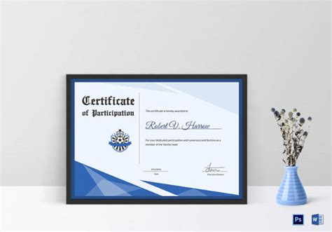 award certificate templates  illustrator