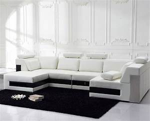 contemporary large ivory l u shaped leather sectional sofa With sectional sofa with storage drawers