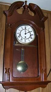 Sligh eight day wall clock for Sligh wall clocks for sale