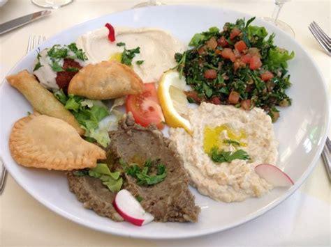 cours cuisine libanaise assiette libanais vegetarien la table libanaise par
