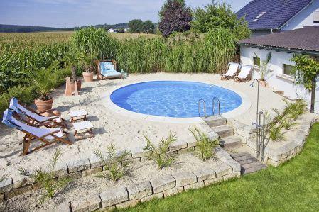 Swimmingpool Luxus Im Eigenen Garten by Stahlwand Pool Rundbecken 350 X 120 Cm Gartenteich Pool