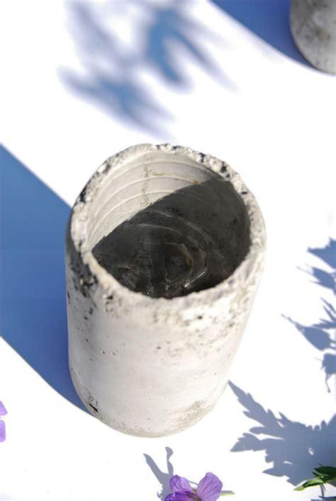diy concrete vases handmade charlotte