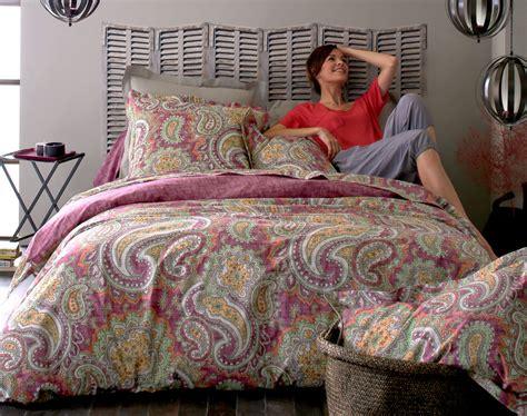 linge de lit motifs cachemire becquet cr 201 ation becquet
