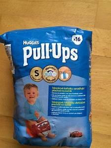 12ks tréninkové kalhotky Huggies Pull Ups 8 15 kg