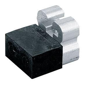 Grant 1213   Door Stop for 1230 Hardware   Black Rubber