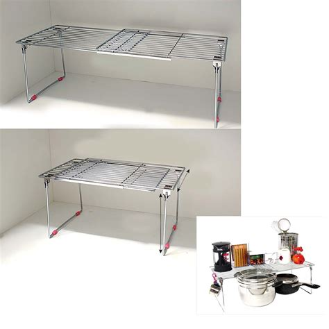kitchen sink organizer shelf new stainless extendable sink organizer storage