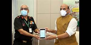 Defence Minister Rajnath Singh Launches App For Online