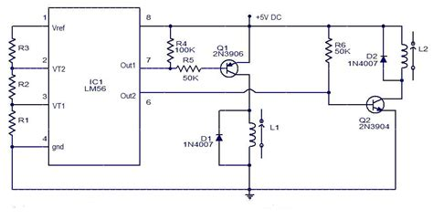 Simple Electronic Thermostat Using