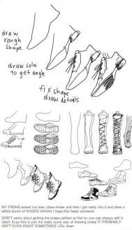 Drawing Shoes Anime Boots