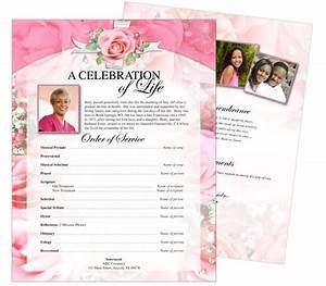 printable funeral memorial flyers samples one page With funeral service sheet template