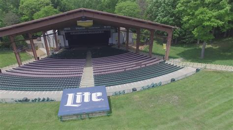 meadow brook amphitheatre flyover youtube