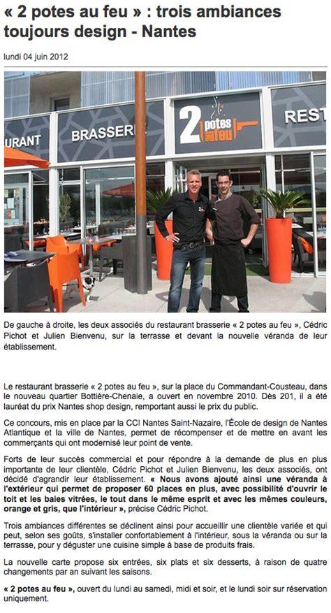 2 potes au feu actualit 233 s presse restaurant zone paridis 224 nantes gt 2 potes au feu