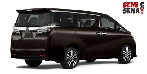 Review Toyota Vellfire by Harga Toyota Vellfire Review Spesifikasi Gambar April